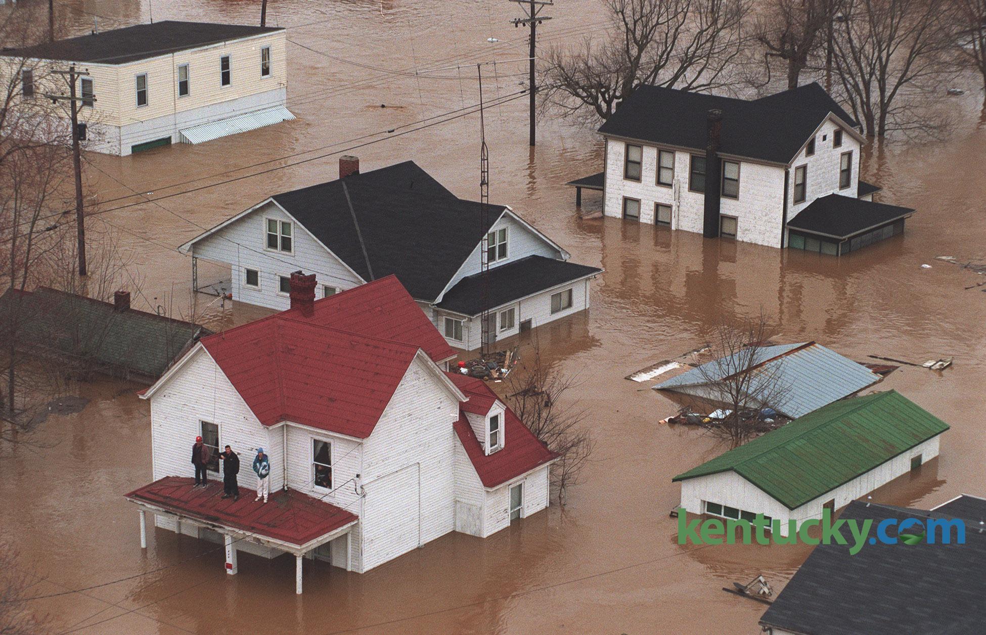 Cynthiana Flooding 1997 Kentucky Photo Archive