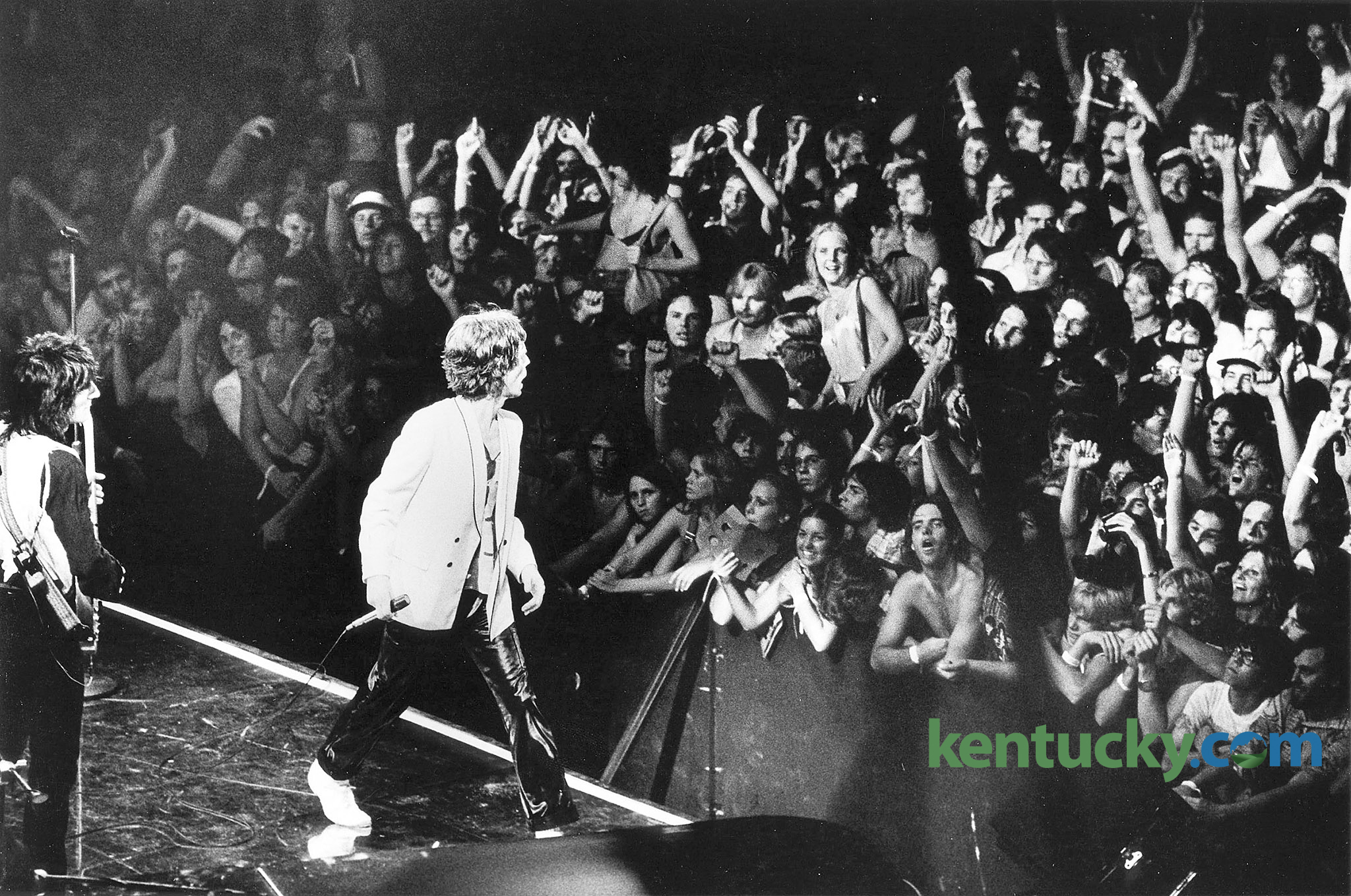 Rolling Stones Perform At Rupp Arena 1978 Kentucky