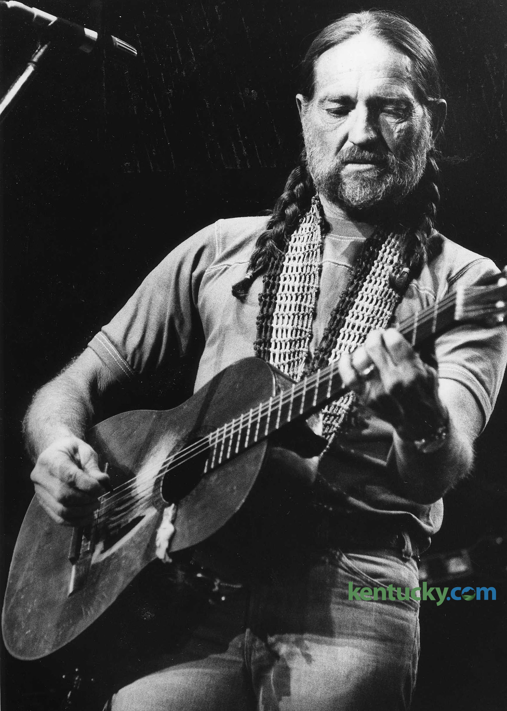 Willie Nelson At Rupp Arena 1979 Kentucky Photo Archive