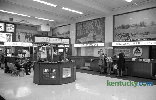 Bluegrass Field terminal, February 1972