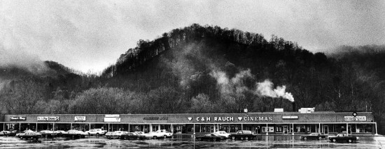 Weddington Plaza Shopping Center April 18, 1984 on U.S. 23 in Coal Run Village, Ky., just outside of Pikeville. The shopping center is now occupied by a J.C. Penny department store, Save-A-Lot supermarket and other stores. Photo by Charles Bertram | staff