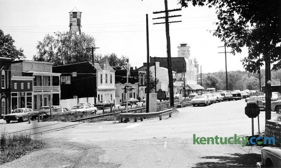 Downton Midway, looking from the interection of Main St. and North Winter Street. Published in the Herald-Leader May 19, 1974.