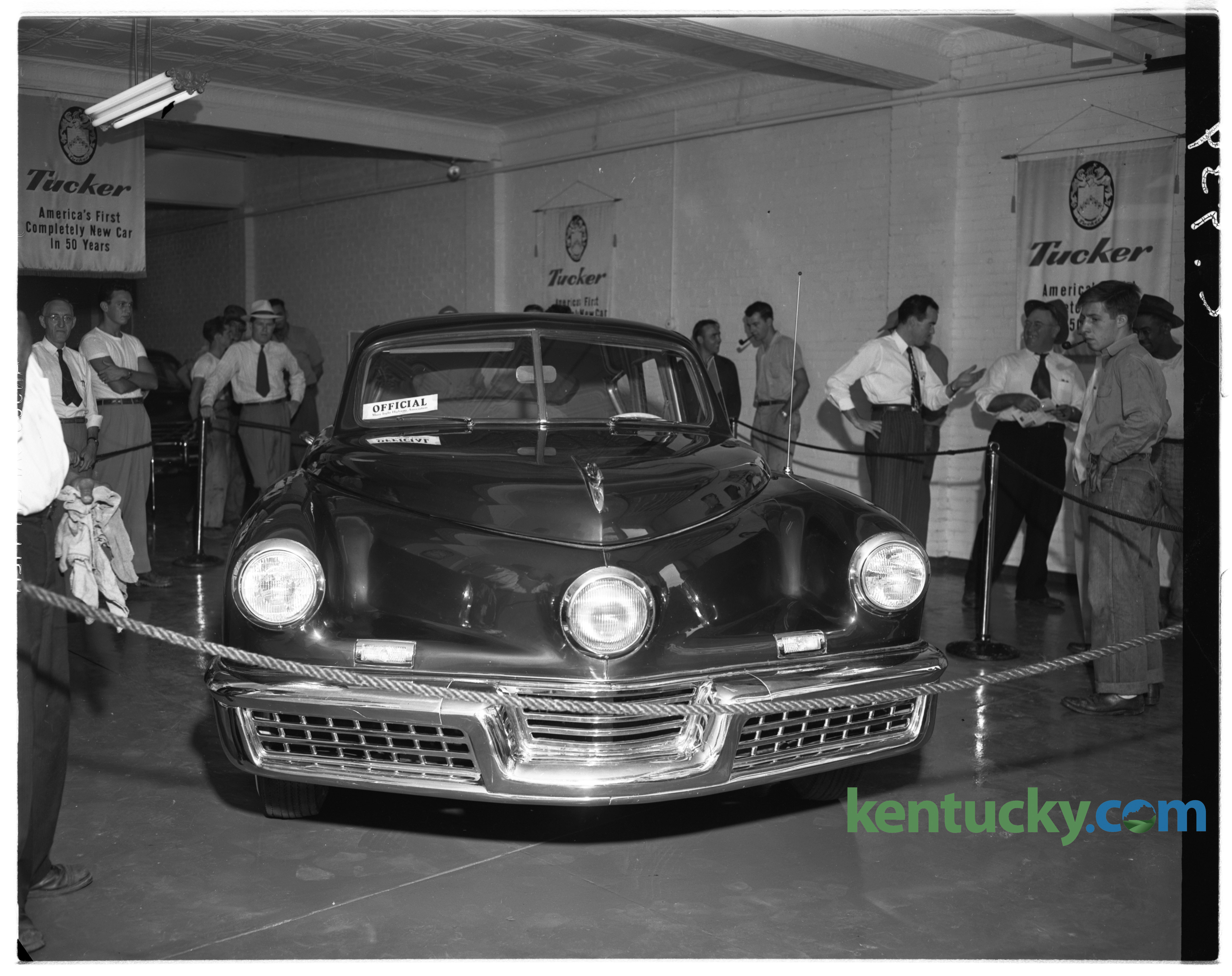 Adams Auto Sales >> A Tucker 48, 1948 | Kentucky Photo Archive
