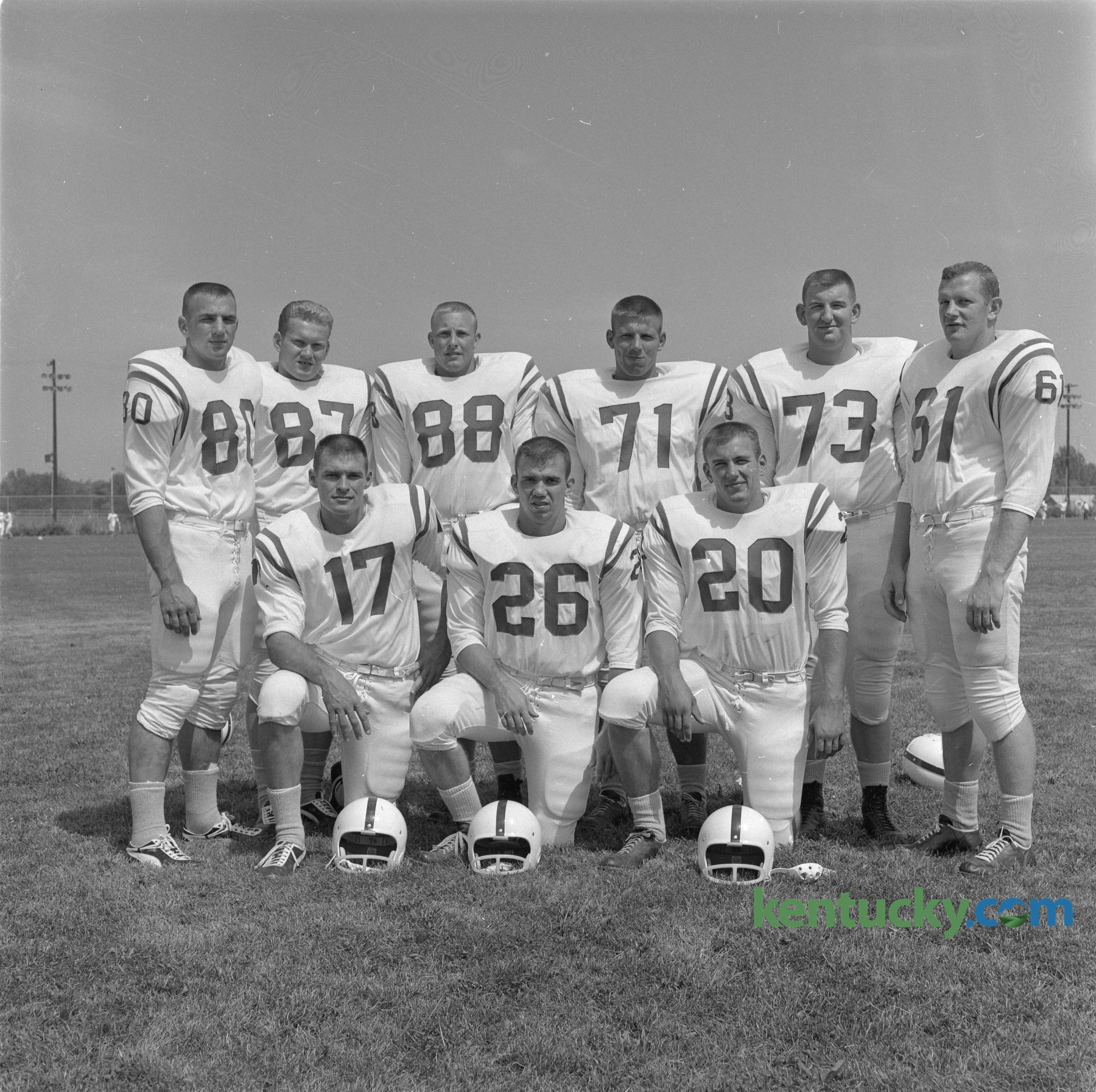 UK football seniors, 1962 | Kentucky Photo Archive