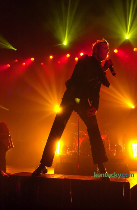 Stone Temple Pilots singer Scott Weiland performing a Kentucky Derby Week concert at Louisville's Brown Theatre, May 1  2002. The band was one of the most commercially successful bands of the 1990s. Photo by Mark Cornelison | staff