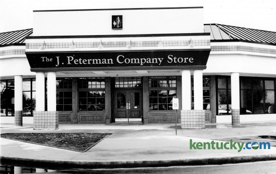 The J. Peterman Company store at 3090 Richmond Road in Lexington, Sept. 15, 1993. The store is now a Pizza Hut location. Photo by Robin Tinay Sallie | staff