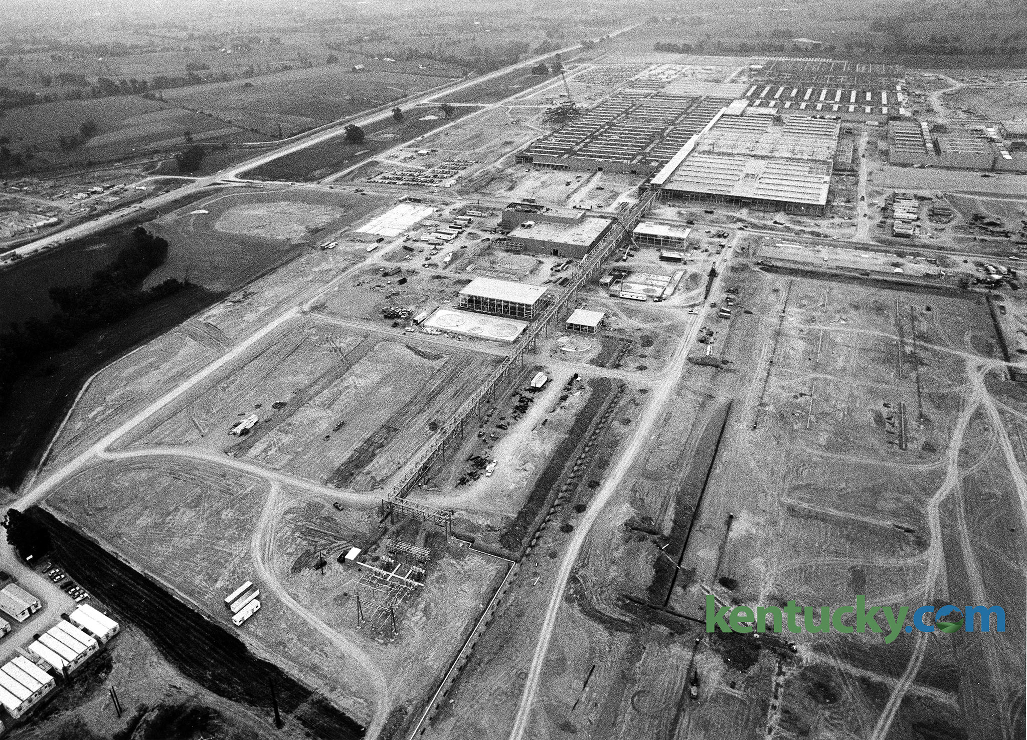 Toyota Plant Georgetown Ky >> Toyota Plant Construction 1987 Kentucky Photo Archive
