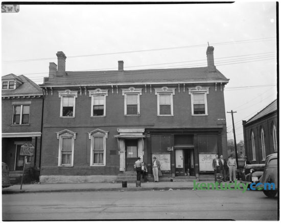 Home of Mary Todd Lincoln, wife of President Abraham Lincoln, 574 West Main Street in downtown Lexington as seen in March 1946. Originally built between 1803-1806 to serve as an inn, the property became the home of politician and businessman, Robert S. Todd in 1832. Daughter Mary Todd, born in December 1818, resided here until she moved to Springfield, Illinois in 1839 to live with her elder sister. There she met and married Abraham Lincoln, whom she brought to visit this home in the fall of 1847. The Todd family resided here until Mr. ToddÕs death in an 1849 cholera epidemic. The historic home is now operated by the Kentucky Mansions Preservation Foundation, Inc. and was opened to the public on June 9, 1977. The house has the distinction of being the first historic site restored in honor of a First Lady. Herald-Leader Archive Photo