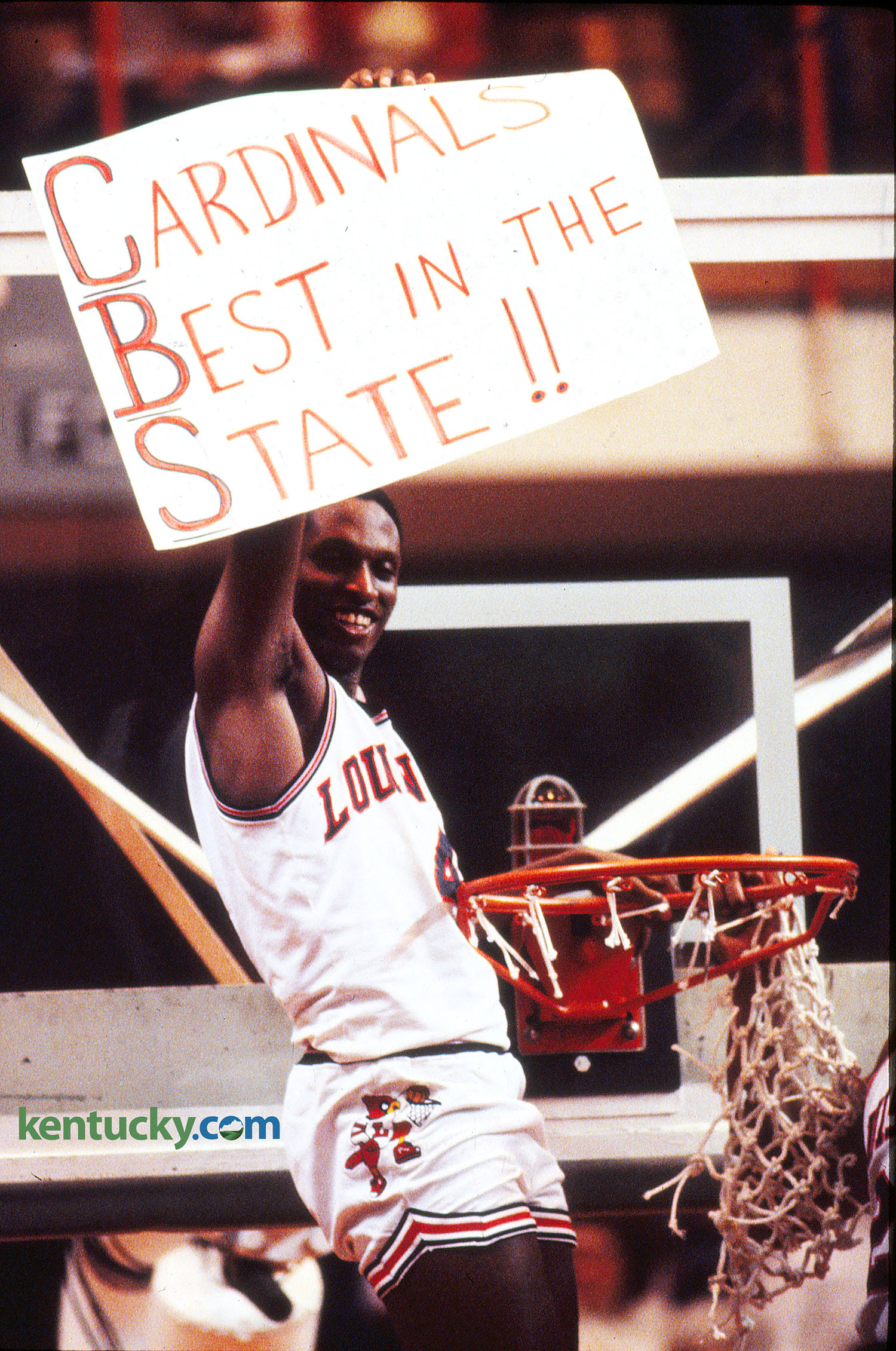 Louisville celebrates 'Dream Game' win, 1983 | Kentucky